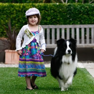 Zoe-walks-the-dog