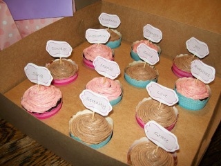 Cupcakes for The Angel Zoe Kindness Project