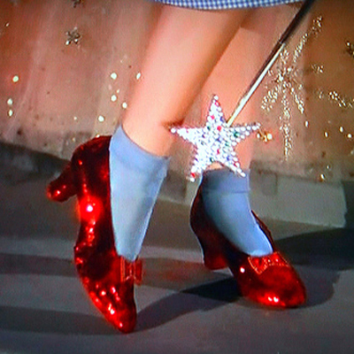 Ruby Slippers from the Wizard of Oz