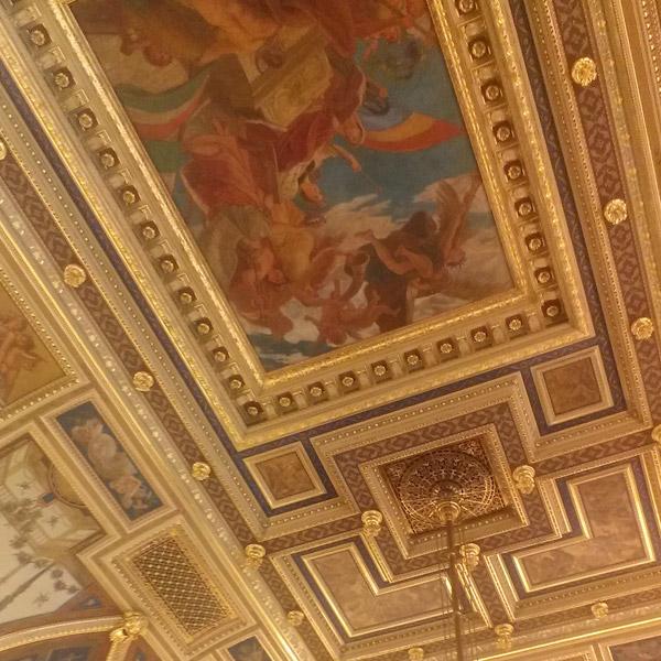 ceiling fresco Budapest