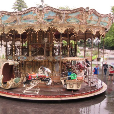 Carousel at Sacre Cour